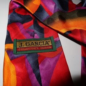 Jerry Garcia Tie / Necktie - Colorful